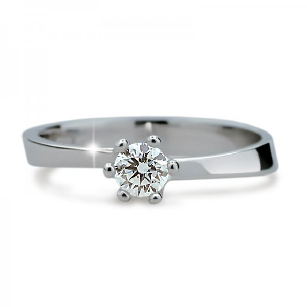 Dámský prsten s diamantem DF1960