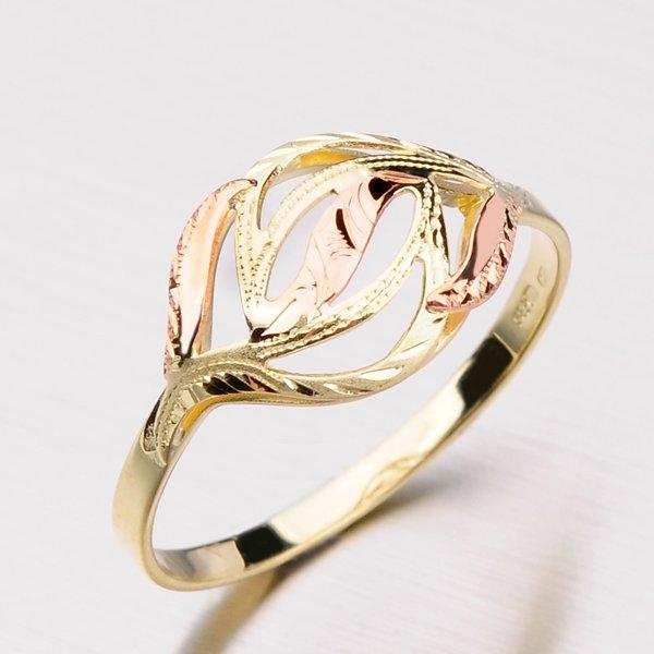 Zlatý prsten 51P-057