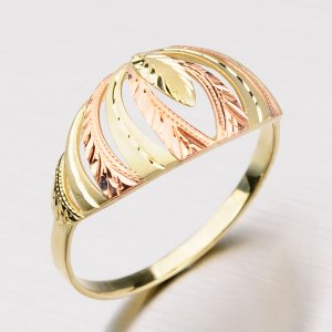 Zlatý prsten 51P-451
