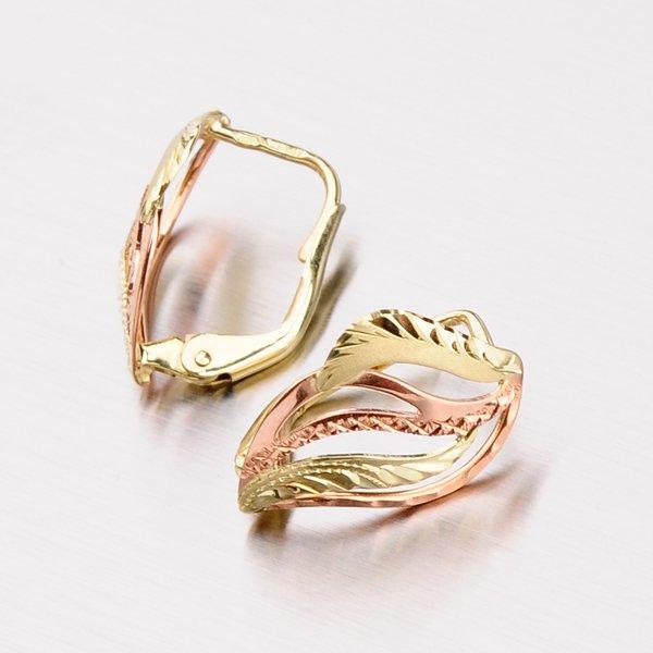 Náušnice ze zlata 52NK-080