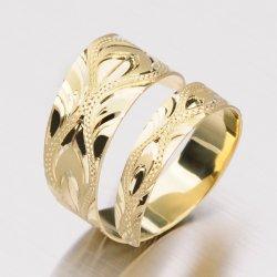 Prsten ze žlutého zlata 51P-430