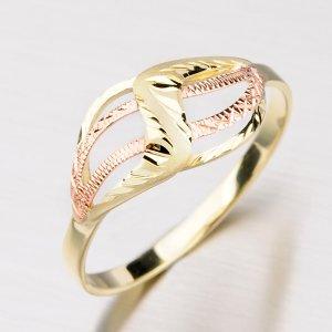 Zlatý dámský prsten 51P-227