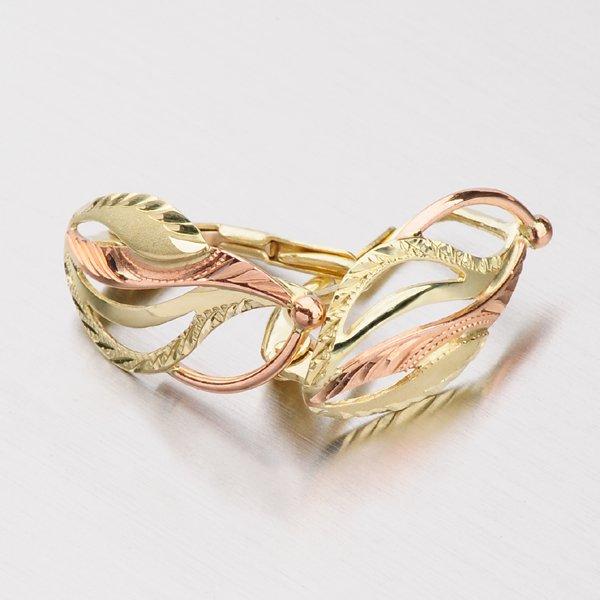 Náušnice ze zlata 52NK-078
