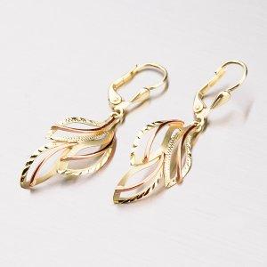 Náušnice ze zlata 52NK-368