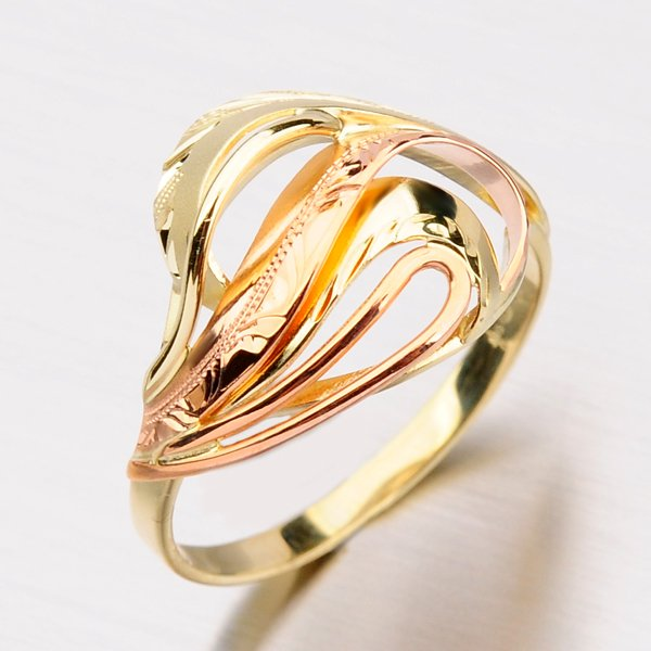 Zlatý prsten 51P-505