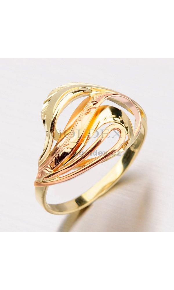 Zlatý prsten 51P-505   Goldex.cz dda9d43bf59