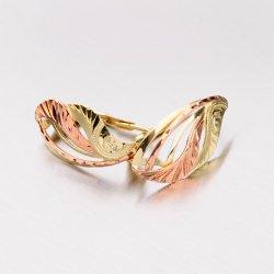 Náušnice ze zlata 52NK-196
