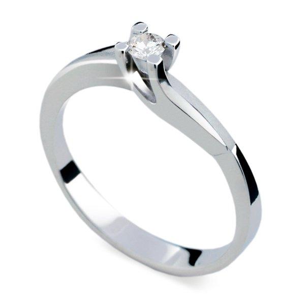 ZP1854D Zásnubní prsten s diamantem ZP1854D