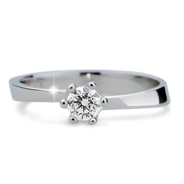 Zásnubní prsten s diamantem ZP1960D