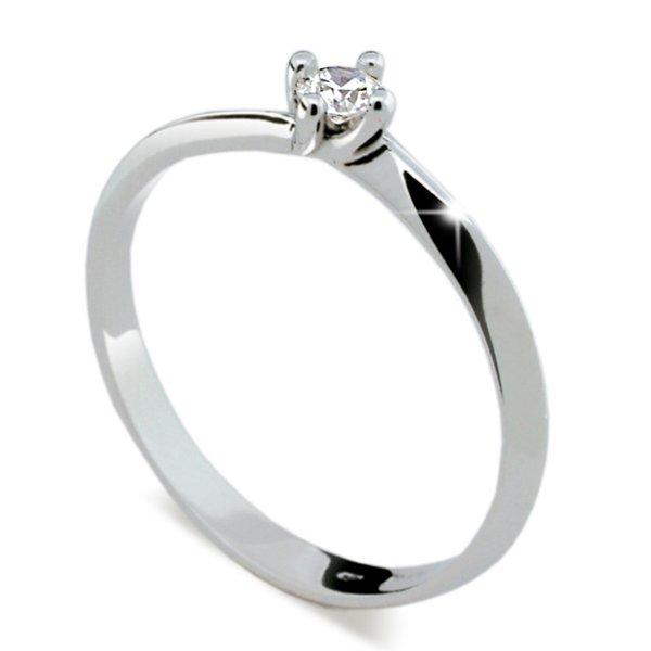 ZP1907D Zásnubní prsten s diamantem ZP1907D