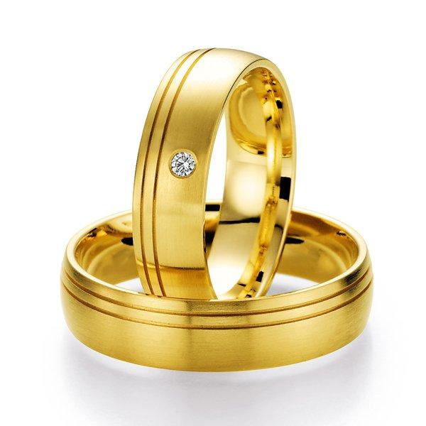 Snubní prsteny s diamantem SP-508