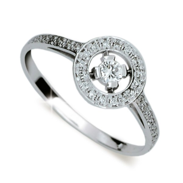 Zásnubní prsten s diamanty ZP1990D