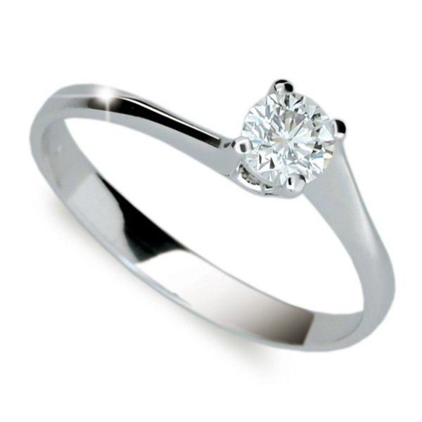 Zásnubní prsten s diamantem ZP1957D
