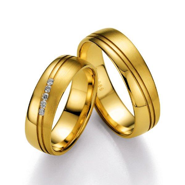 Snubní prsteny s diamanty SP-500