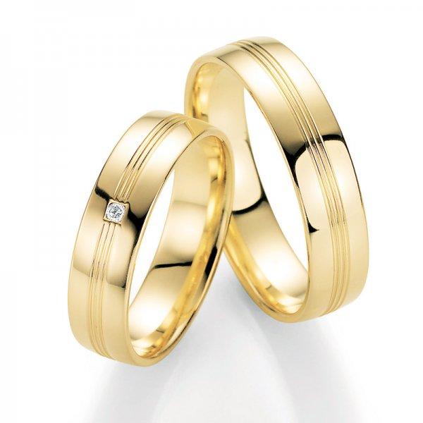 SP-10230 Snubní prsteny s diamantem SP-10230