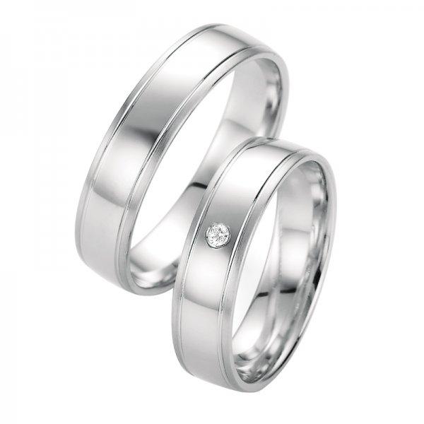 Snubní prsteny s diamantem SP-10350