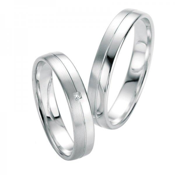 Snubní prsteny s diamantem SP-10090