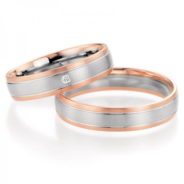 SP-10190 Snubní prsteny s diamantem SP-10190