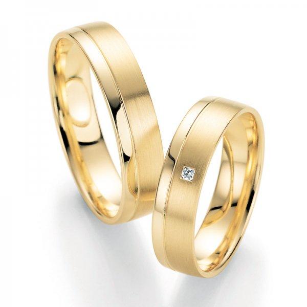 SP-10210 Snubní prsteny s diamantem SP-10210