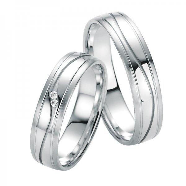 SP-10010 Snubní prsteny s diamanty SP-10010