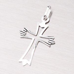 Křížek z bílého zlata 43-2536