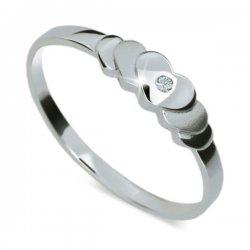 ZP1876D Zásnubní prsten s diamantem ZP1876D