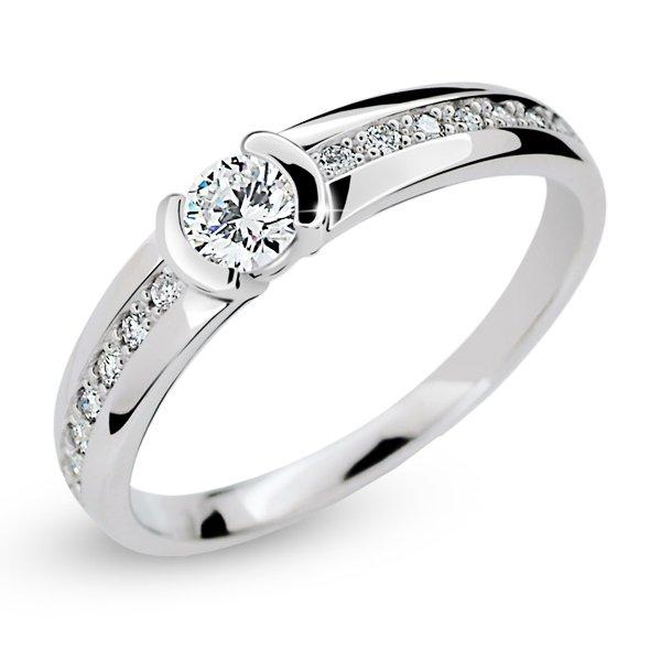 Dámský prsten s diamanty DF2106