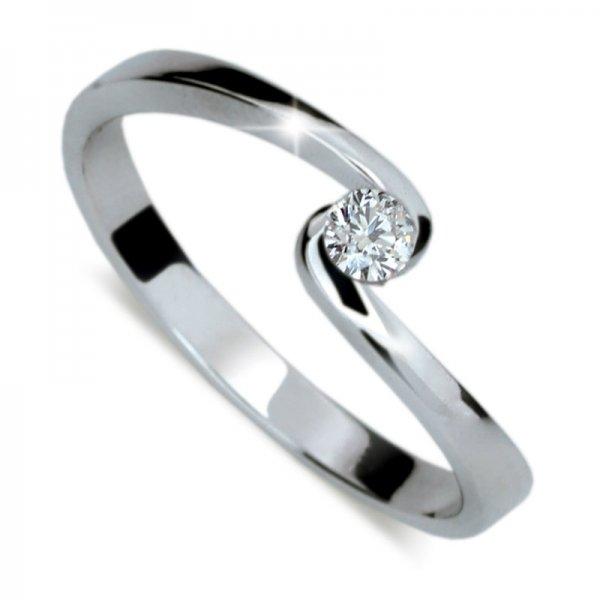Dámský prsten s diamantem DF1934