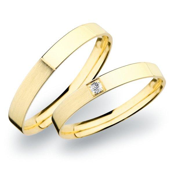 Snubní prsteny ze zlata SP-264Z