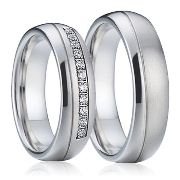 SP-7001 Ocelové snubní prsteny SP-7001