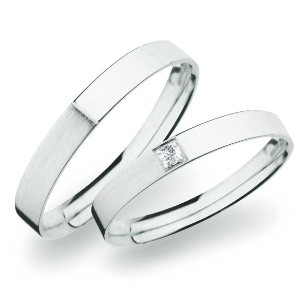 SP-264 Snubní prsteny ze zlata SP-264B