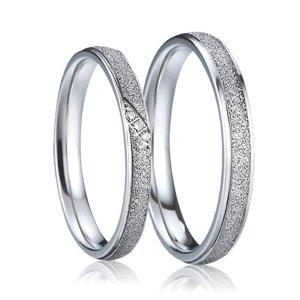 Ocelové snubní prsteny SP-7007