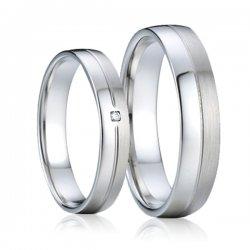 SP-7008 Ocelové snubní prsteny SP-7008