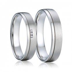 SP-7009 Ocelové snubní prsteny SP-7009