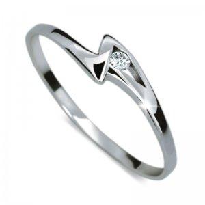 Dámský prsten s diamantem DF1138