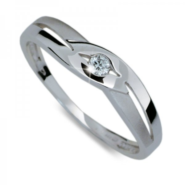 Dámský prsten s diamantem DF1776
