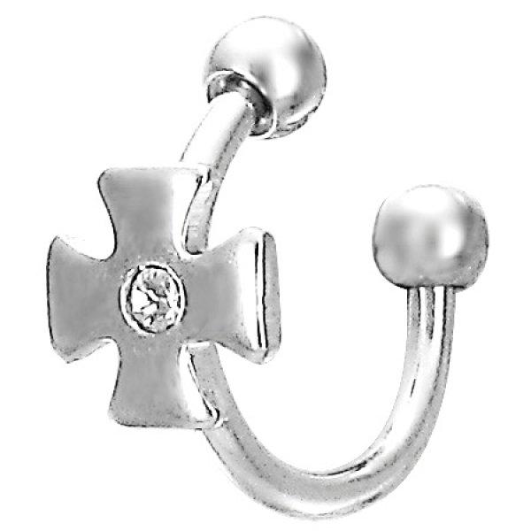 Ocelový piercing do obočí GBDS001