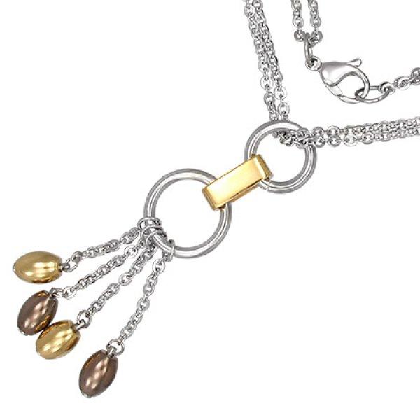 Ocelový náhrdelník GCAT040