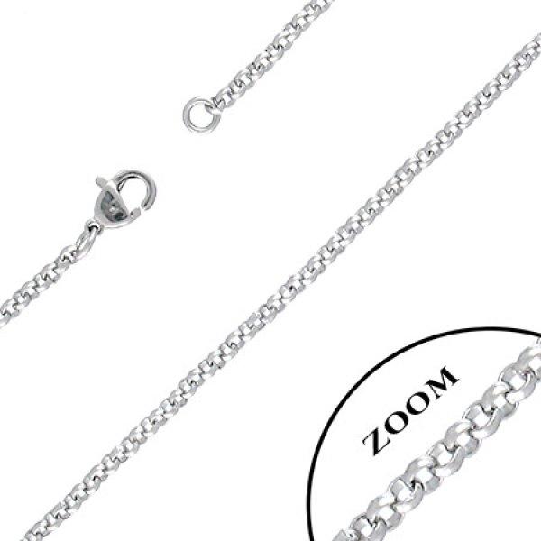Ocelový řetízek hráškový GCNE022