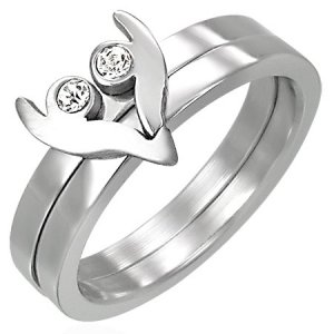 Prsten se zirkony GCRT038