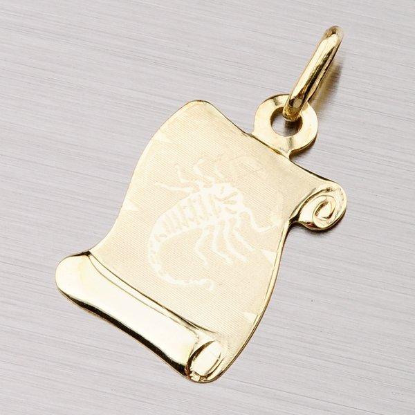 Zlatý přívěsek - Štír 43-2077-10