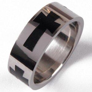 Ocelový prsten 232448A