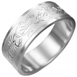 Prsten z oceli GERA025