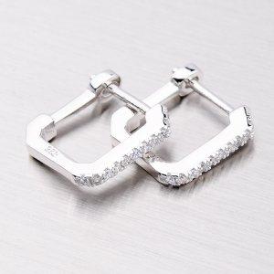 Náušnice ze stříbra EXX08130017
