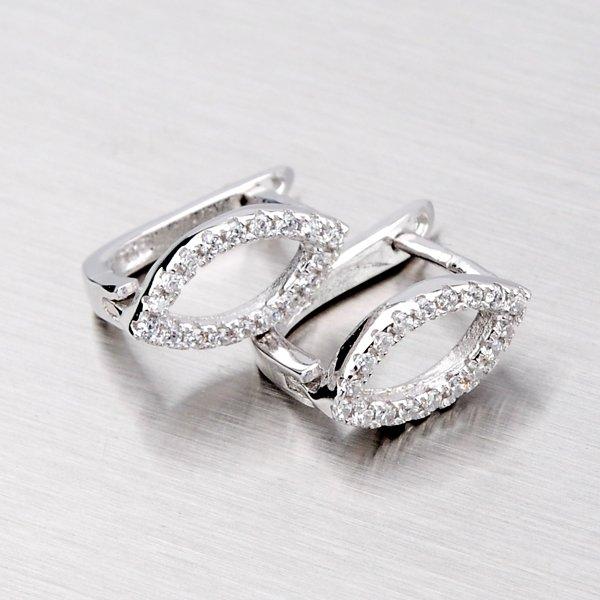Stříbrné náušnice EXX09140021