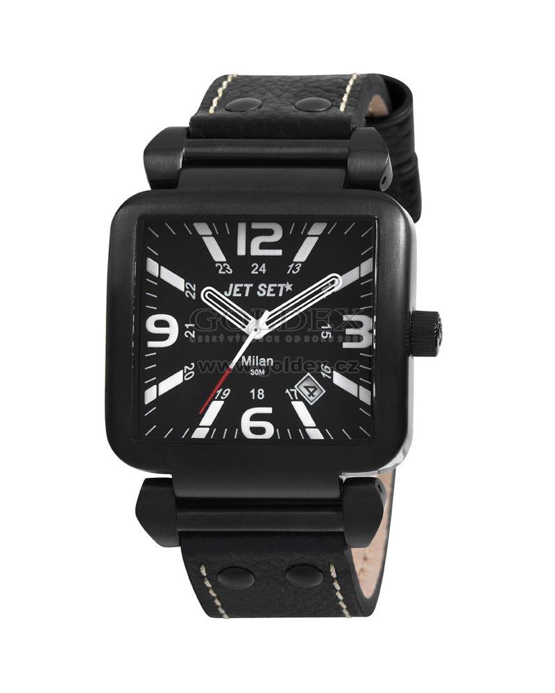 Jet Set - Milan J1457B-237. zdarma. Pánské elegantní hodinky ... 58c928113d1