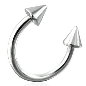 Ocelový piercing GJNB017