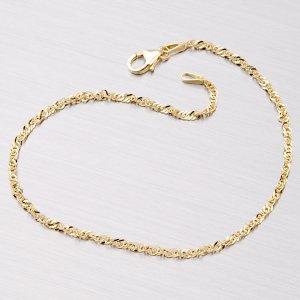 Zlatý náramek - lambáda N304-0004