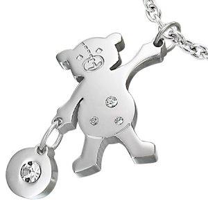 Medvídek se zirkony GPCZ345