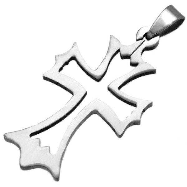 Kříž z chirurgické oceli GPPP002
